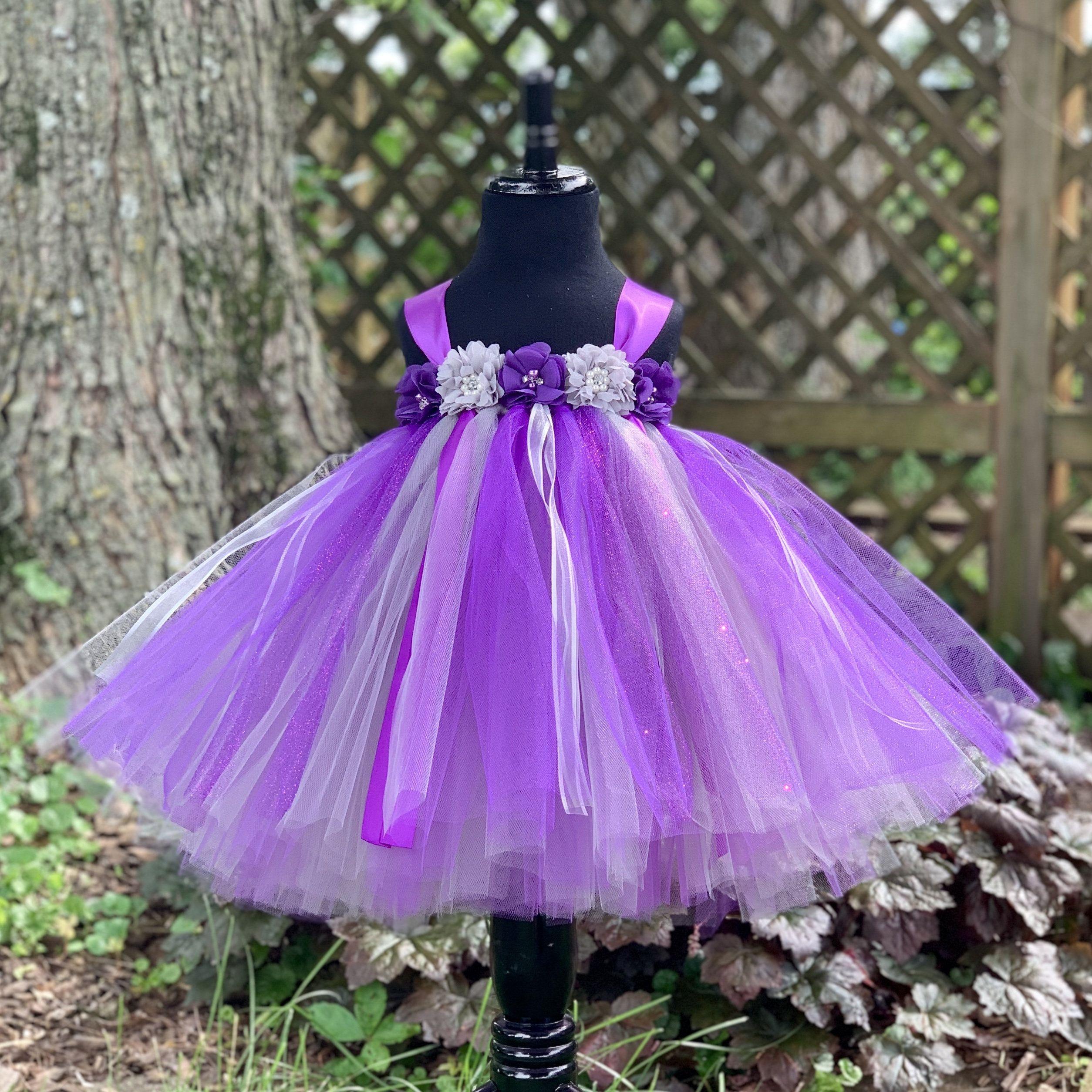 Purple Silver Flower Princess Dress Tutu Dress Baby Tutu Etsy Princess Tutu Dresses Princess Dress Tutu Dress Toddler [ 2508 x 2508 Pixel ]