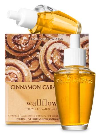 Cinnamon Caramel Swirl Wallflowers Refills 2 Pack Bath And Body Works Cinnamon Caramel Bath And Body