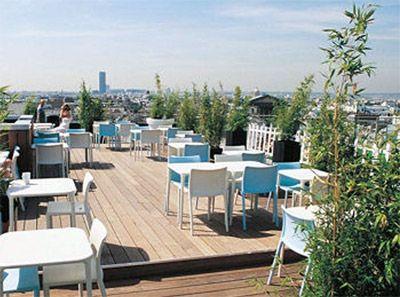 Terrasse Du Printemps Maison Boulevard Haussmann Ixe