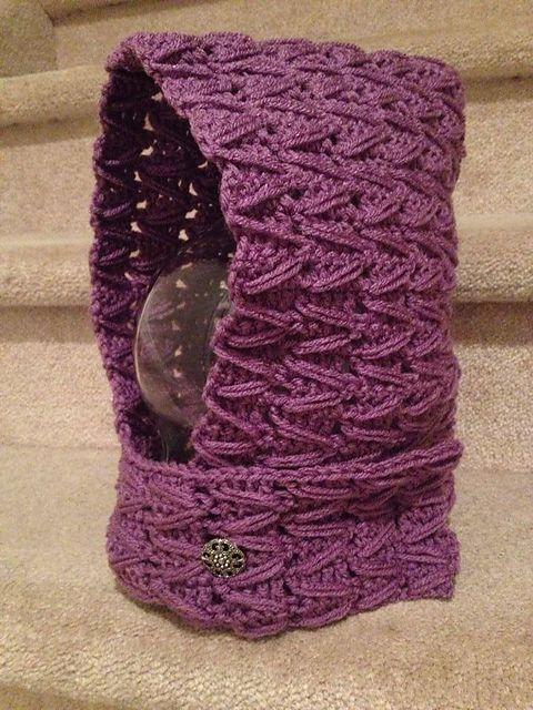 Zig Zag Scoodie pattern by Rocky Mountain Crochet Design | Colchas ...