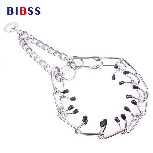 Training Metal Dog Collars Fashion Design Pinch Collar For