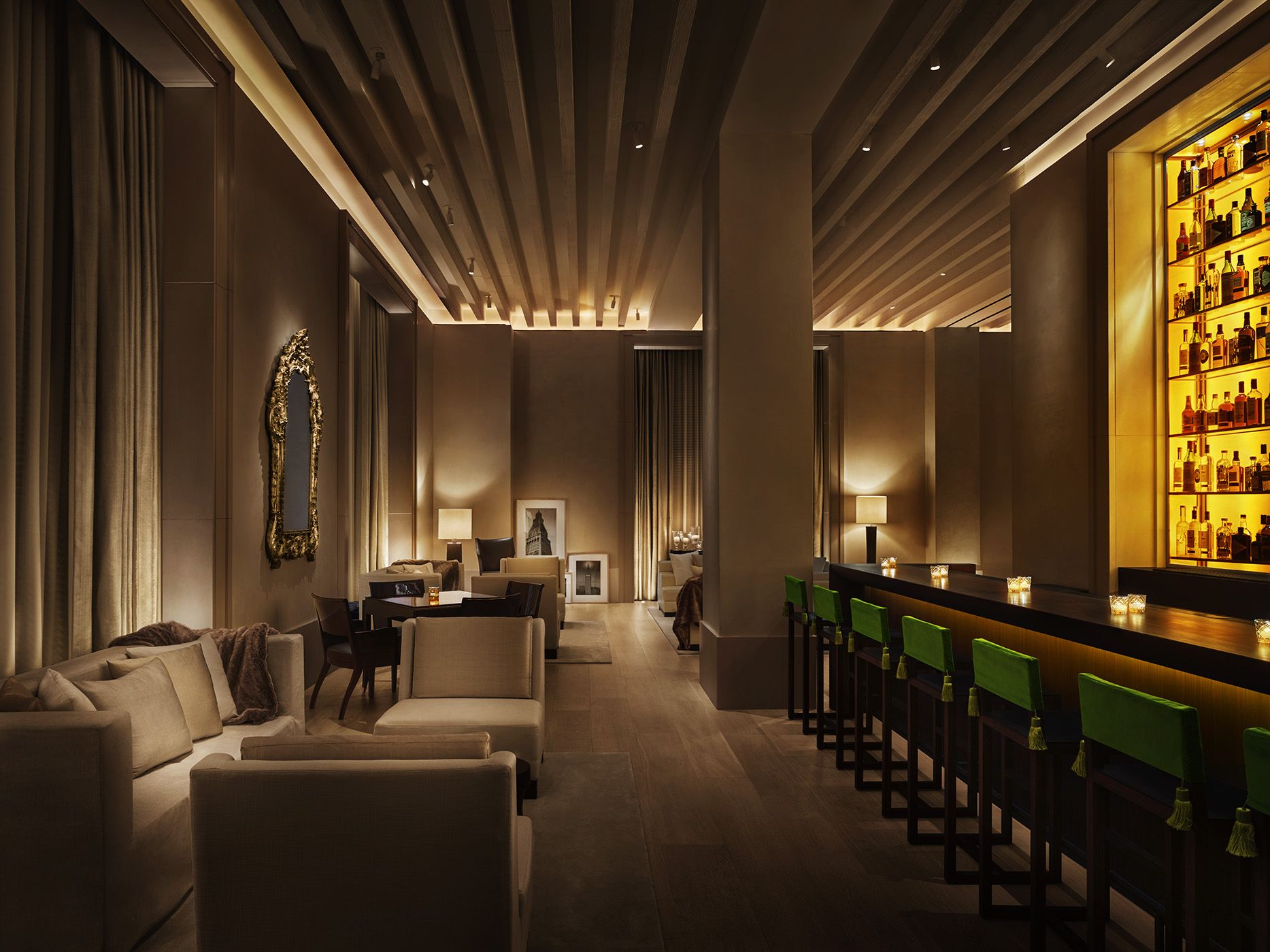 Lobby Bar At The New York Edition New York Edition Hotel