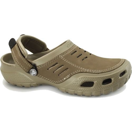 e77b296d1 Crocs Yukon Sport Khaki The Crocs trade Yukon Sport gives you the comfort  of clogs with
