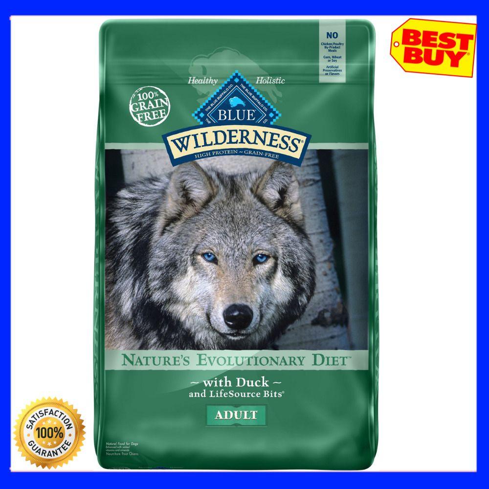 Blue Buffalo Wilderness Duck Recipe Grain Free Dry Dog Food 24 Lb