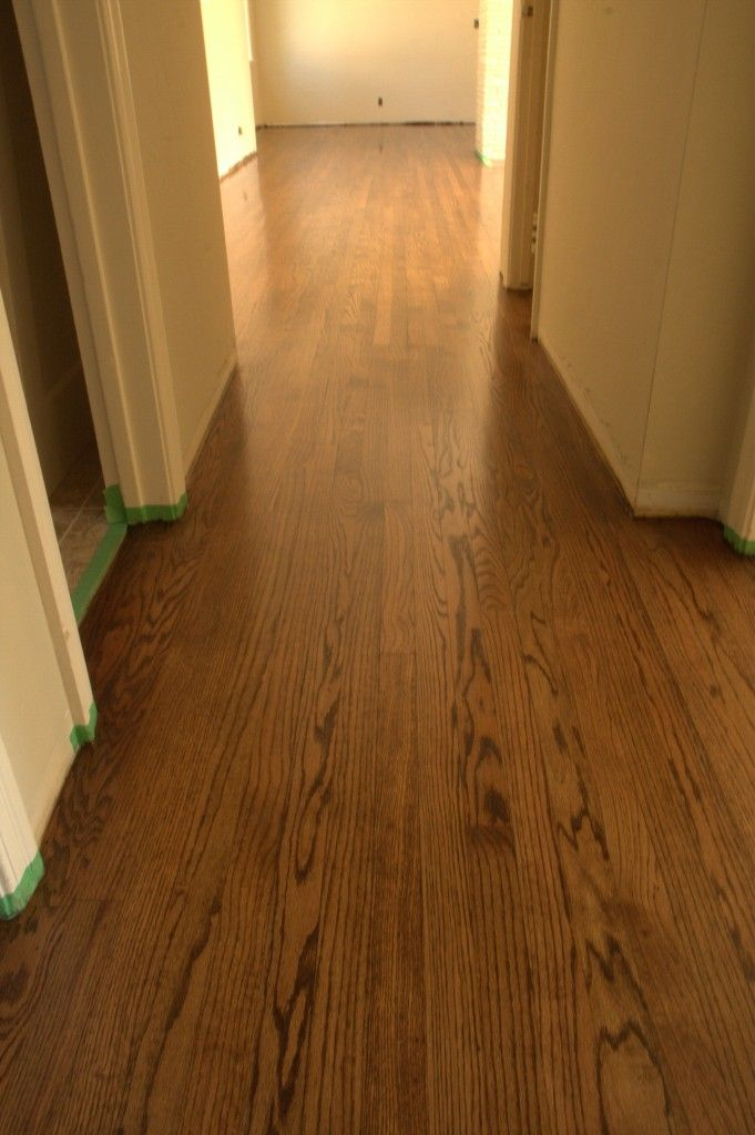 Refinish Russell Hardwood Floors Red Oak Stain Red Oak Floors Oak Stain