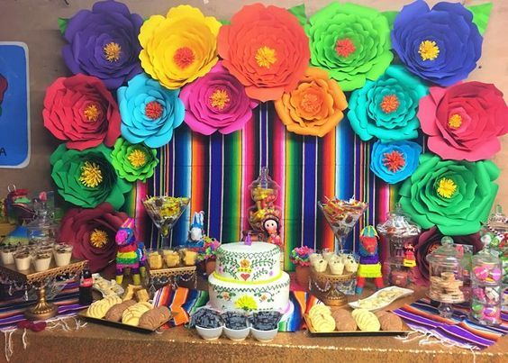 Ideas Para Fiestas Tematica Mexicana Decoracion Fiesta Mexicana - Decoracion-para-fiesta-adultos