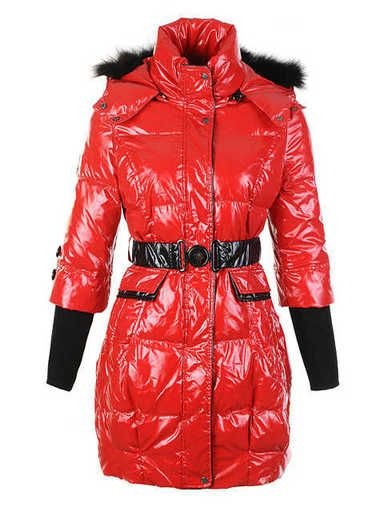 0c4e031a1 Cheap Moncler Women Pop Star down coat In Red MC687 Outlet-6849 ...