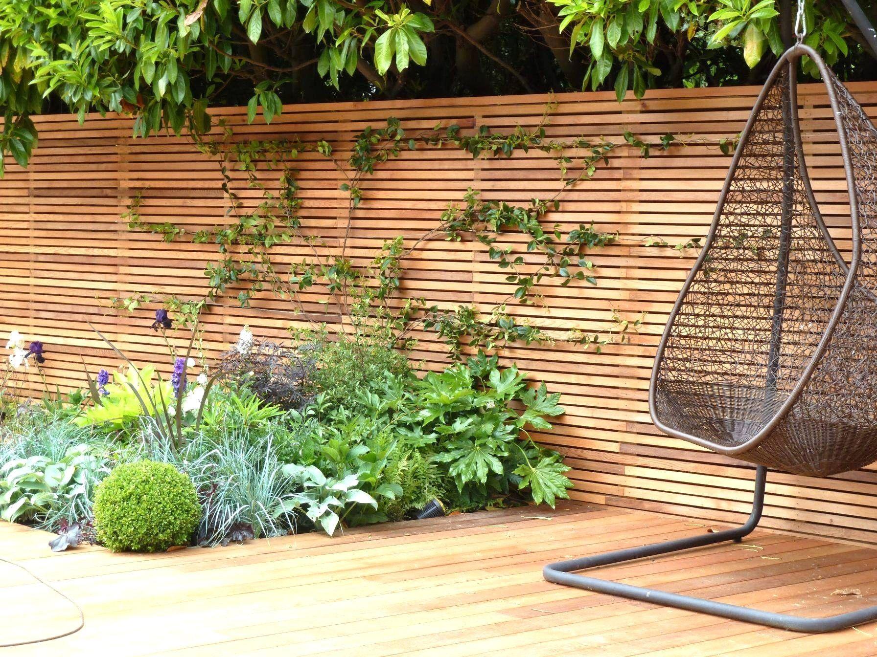 Oberteil 40 Für Bauhaus Sichtschutz Holz Gartendesign