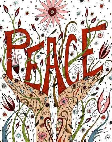 May Peace escalate in your lives, your community, your hearts and our entire world.