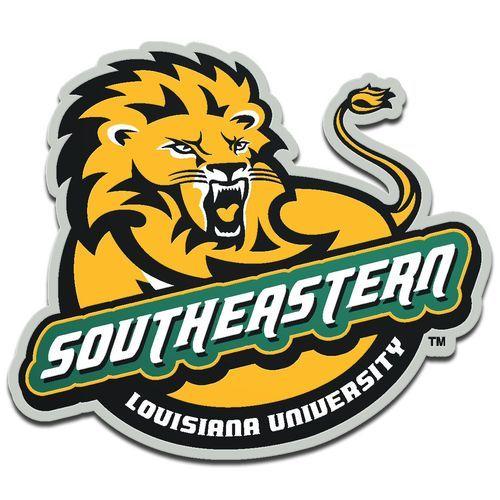 Stockdale Southeastern Louisiana University Laser-Cut Auto Emblem (Green Dark, Size ) - NCAA Licensed Product, NCAA Novelty at Academy Sports