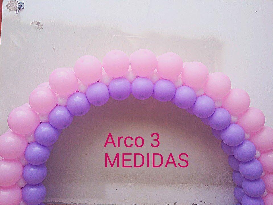 Arco De Baloes 3 Medidas Diferentes Com Imagens Arcos De