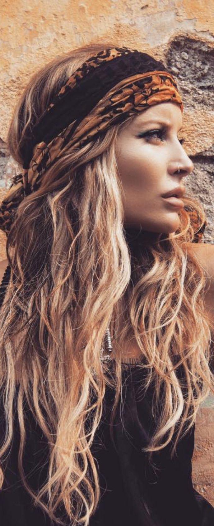 Bohemian Hair   Hippie hair, Boho hairstyles for long hair ...