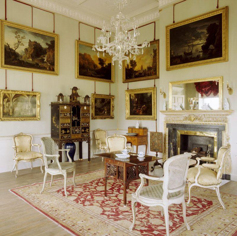 A Paradigm Buffet At Uppark Classic Interior Interior Design Home Decor