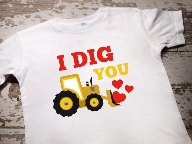 I Dig You Valentines Shirt Diy Kids Activities Pinte