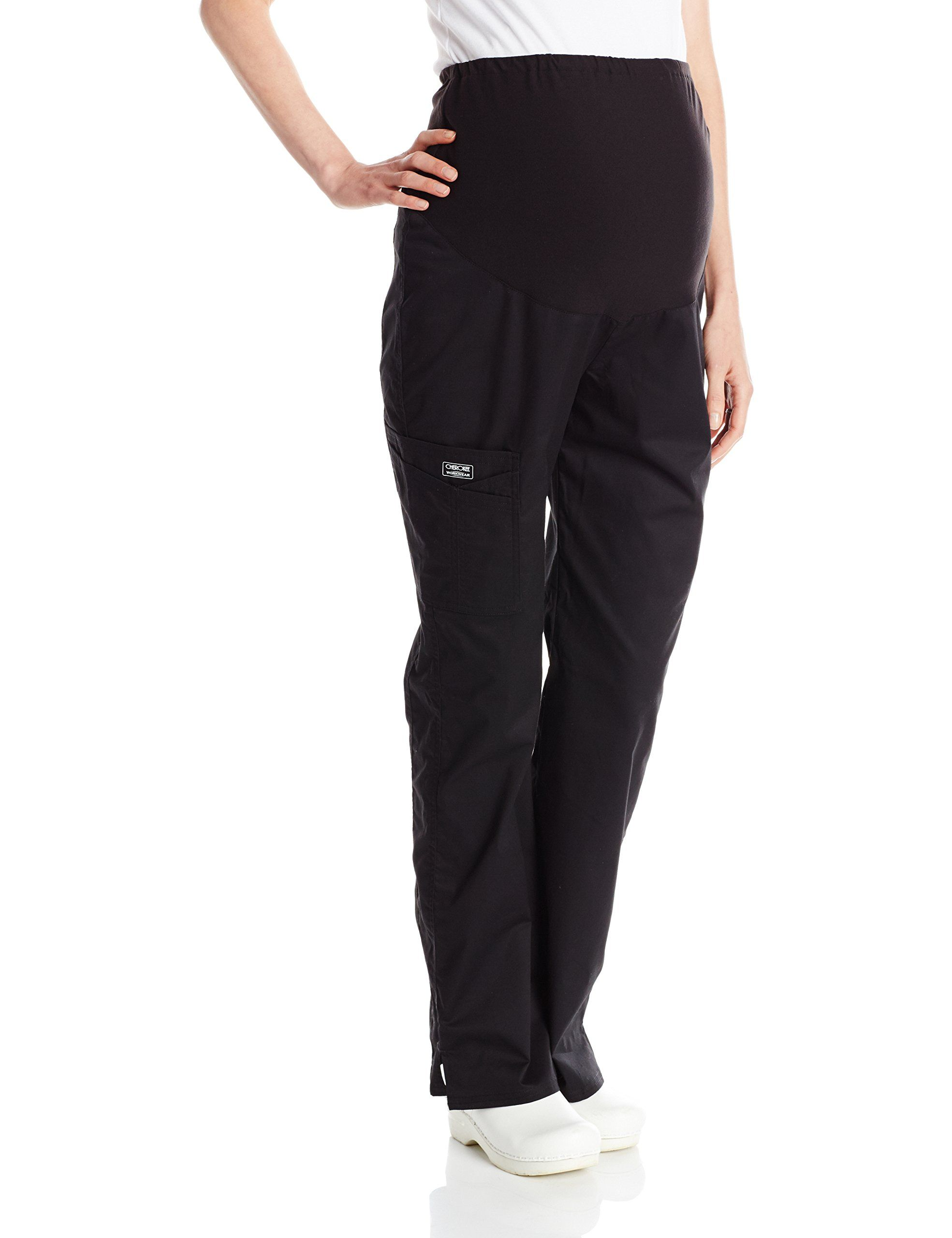 f48c0a3b621 Cherokee Womens PlusSize Maternity PullOn Knit Waist Pant Black XXXLarge     Find out more about the great product at the image link.