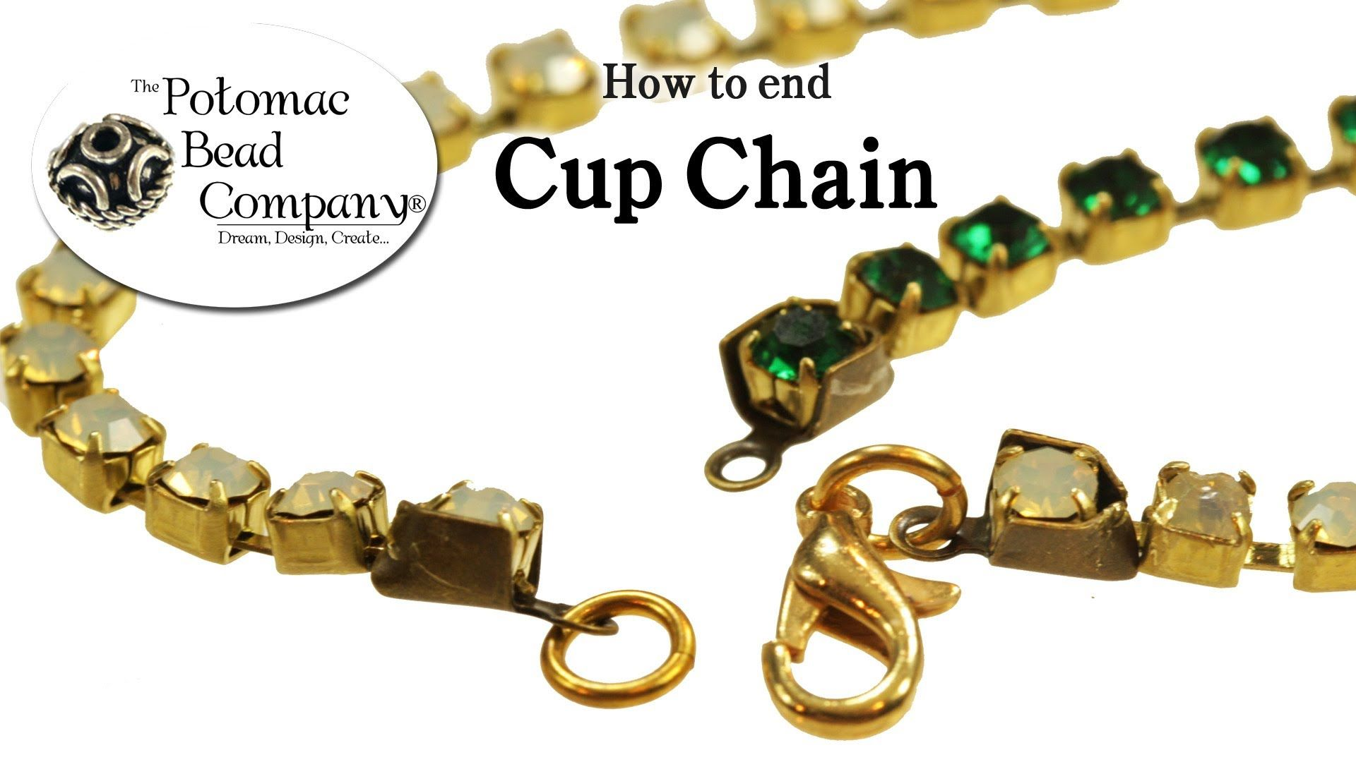 a0a026d471 How to End Cup Chain without Cup Chain Ends | Bracelet You Tube ...