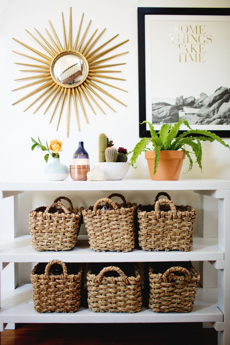 Three Tips For Styling An Entryway - A BEAUTIFUL MESS