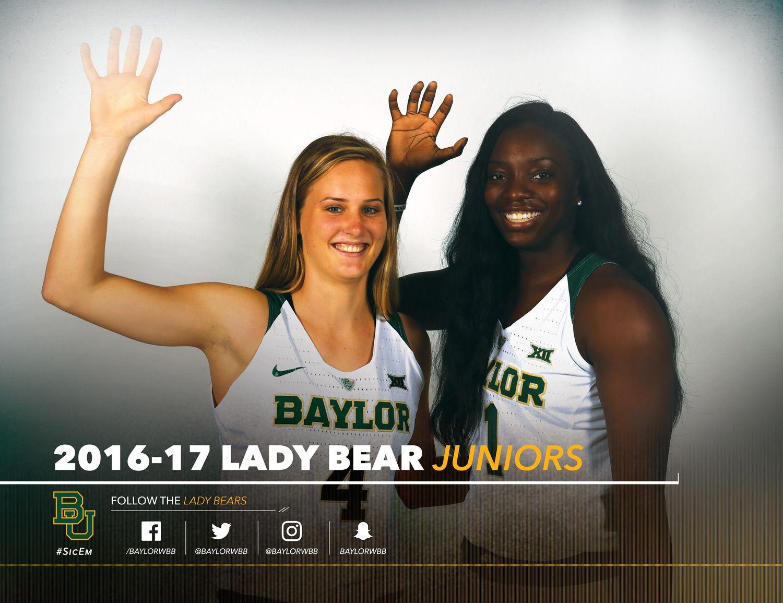 The 2016 17 Baylorathletics Women S Basketball Roster Card Vs