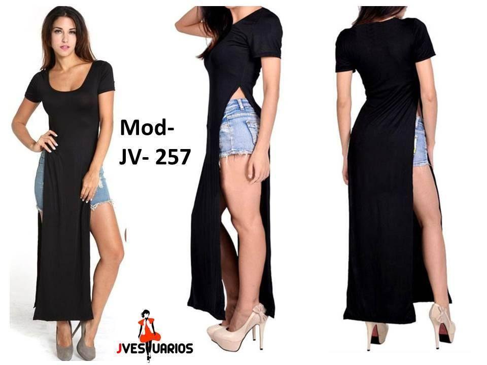Vestidos Casuales Para Damas Blusones Largos Sobretodos