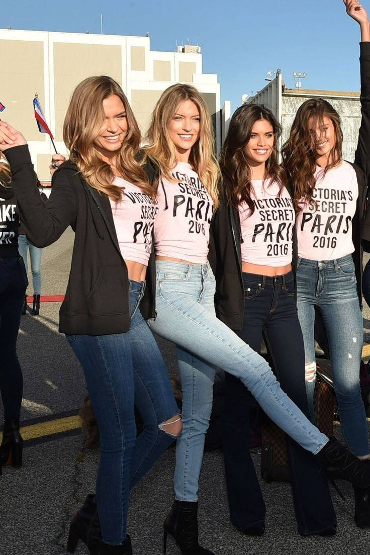 Josephine Skriver, Martha Hunt, Sara Sampaio, and Taylor Hill..... - Celebrity Fashion Trends
