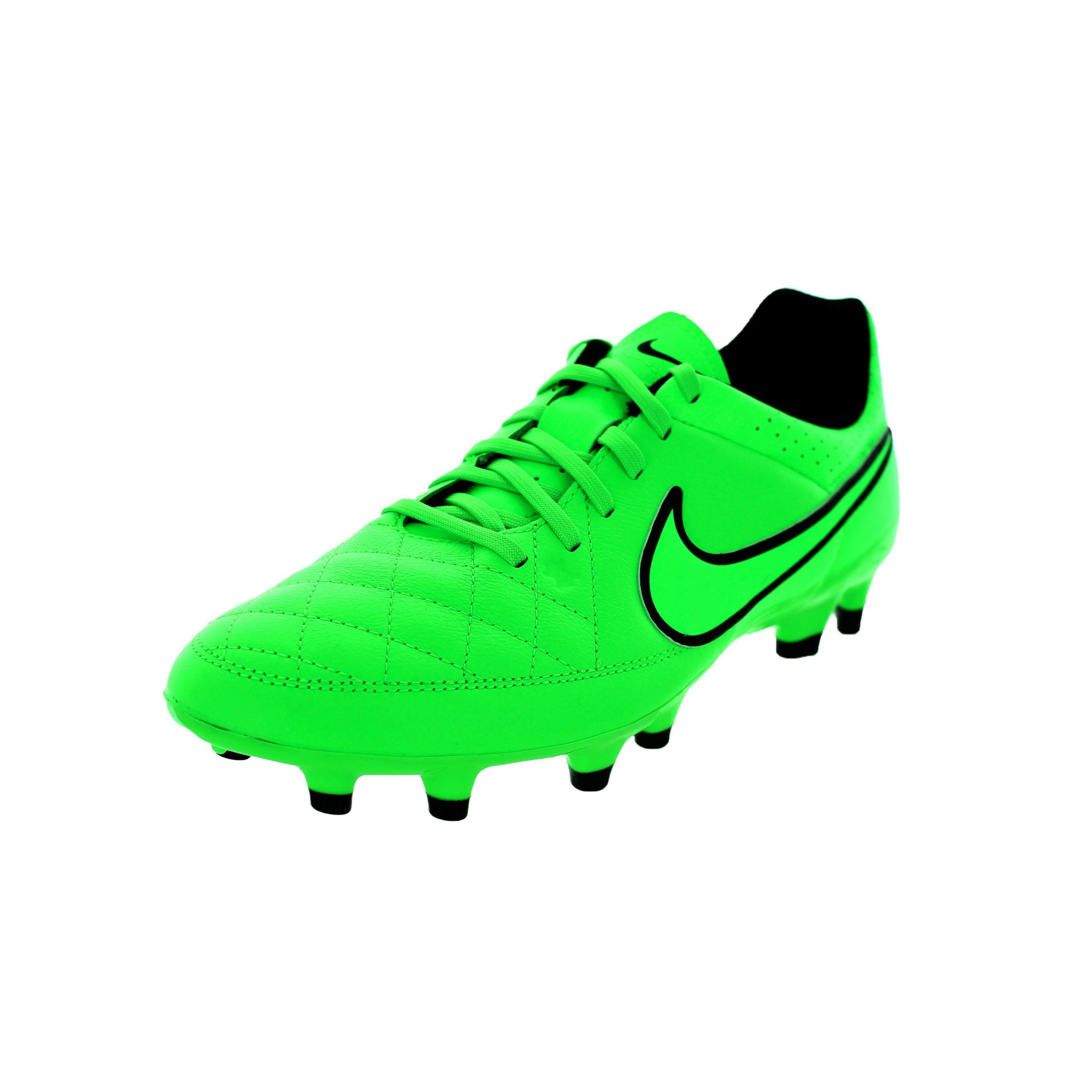 Football boots · Nike Men's Tiempo Genio FG Strike/Black Soccer Cleats