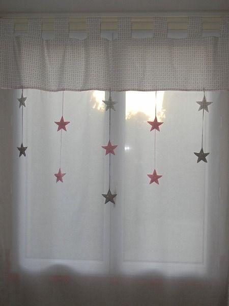 Idée rideaux chambre des filles projet deco Pinterest Kids