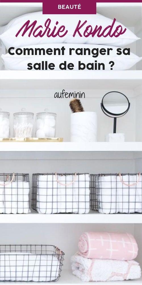 4 conseils de Marie Kondo pour bien ranger sa salle de bain