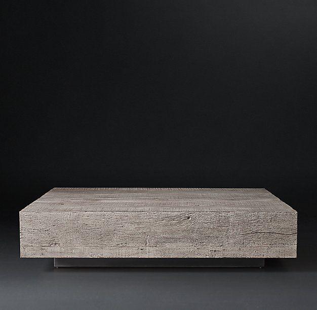 Monterey Plinth Square Coffee Table