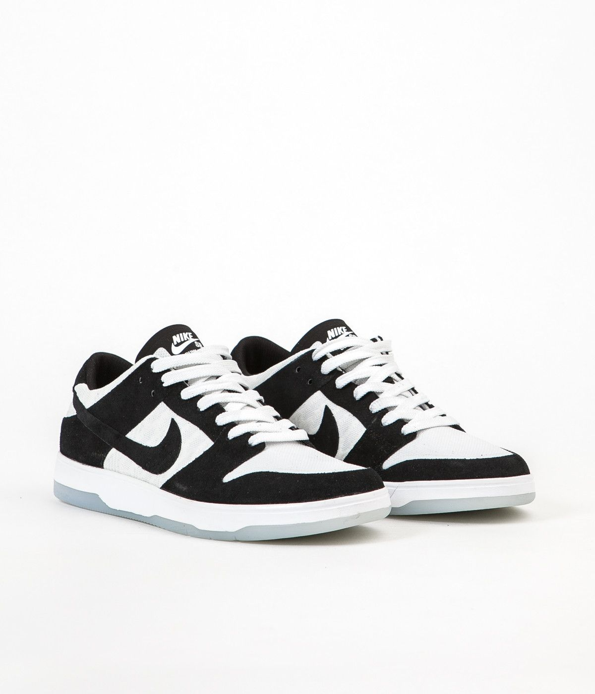 new style fd33b 0460a Nike SB Dunk Low Elite Oski Shoes - Black  White - Clear - Black