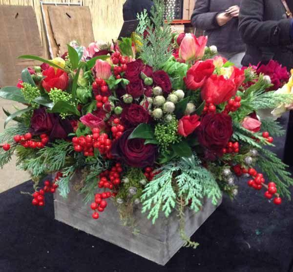 Uk Flower Shops Flirty Fleurs The Florist Blog Inspiration For Floral Holiday Floral Arrangements Christmas Flower Arrangements Fresh Flowers Arrangements