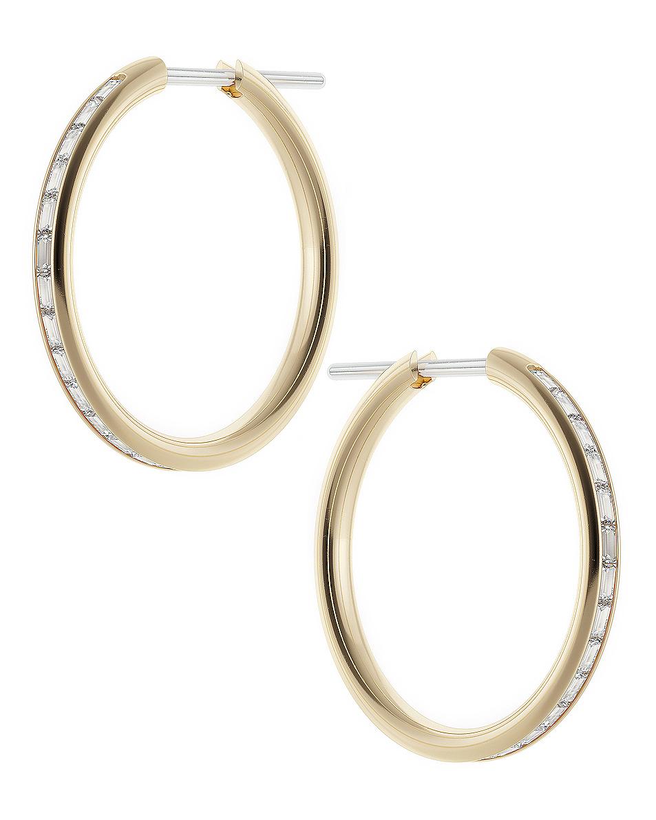 Spinelli Kilcollin Miri Hoop Earrings In Gold Fwrd Hoop Earrings Band Ring Designs Earrings