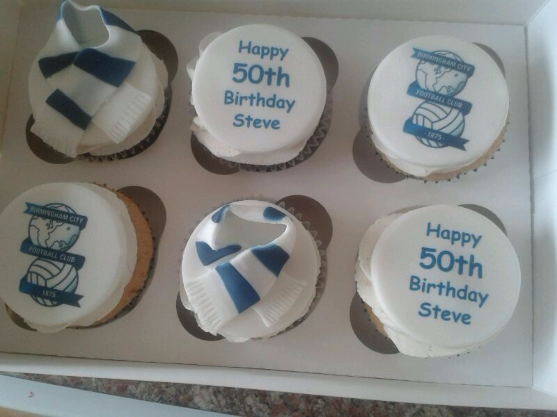 Birmingham City Cupcakes Birthdays Birthday