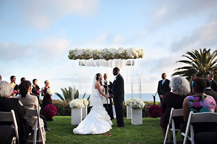 Modern Ceremony Canopy With Fls