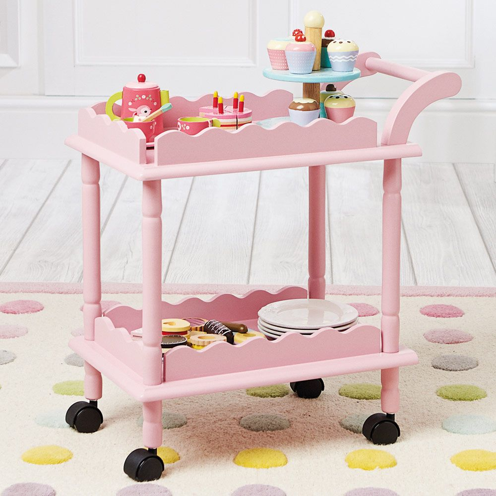 Time For Tea Trolley White Tea Trolley Tea Cart Toy Rooms