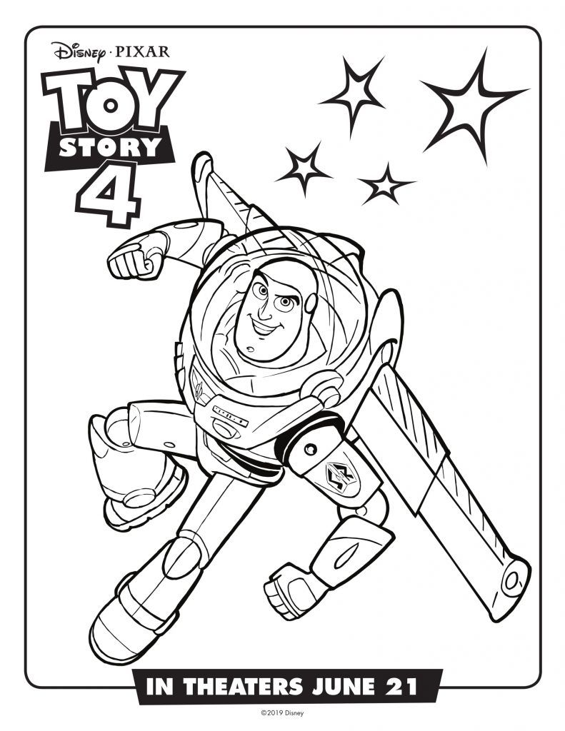 Toy Story 4 Coloring Pages Best Coloring Pages For Kids Toy Story Coloring Pages Disney Coloring Pages Coloring Books