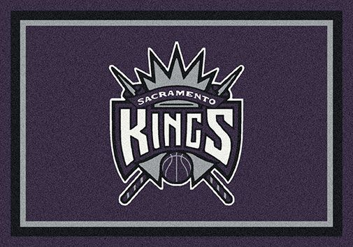 Sacramento Kings area rugs. Get in the game and show pride in your NBA team with Milliken's TeamMats collection of 50 NBA mascots and insignias. Milliken mats are made of 100% nylon pile and injected with colorfast dyes throughout to make them both durable and beautiful. All mats are available in six sizes and are proudly made in the USA. Select your NBA team and order from Floors To Go through our easy PayPal shopping cart system where you can pay by credit card or with your PayPal account.