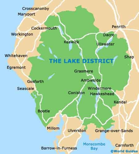 Map Of Nw England.Lake District Nw England Map Travel Uk England Nw Lake
