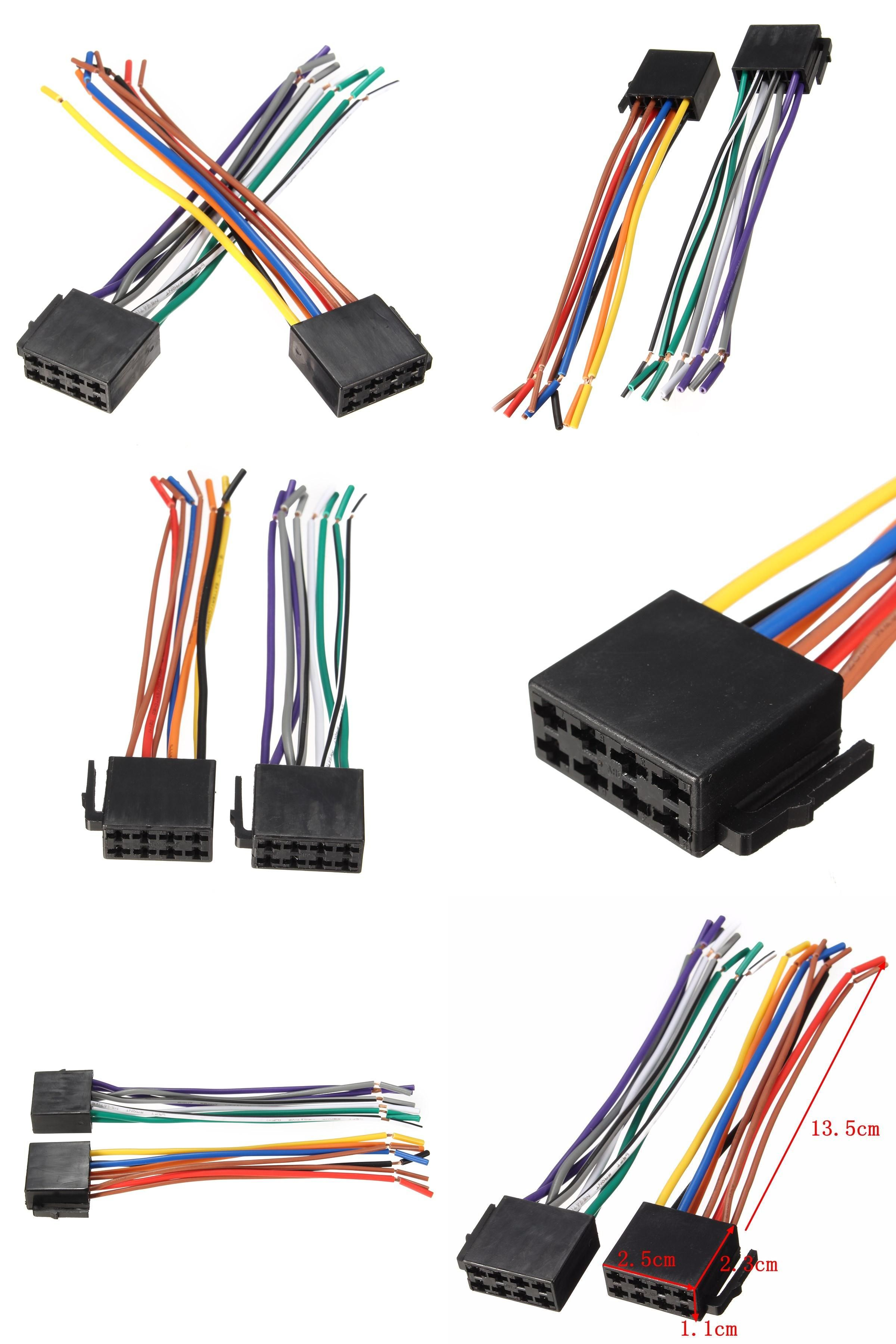visit to buy] newest universal wire harness adapter connector Wire Harness Adapter Car Stereo [visit to buy] newest universal wire harness adapter connector cable radio wiring connector plug car stereo wire harness adapter