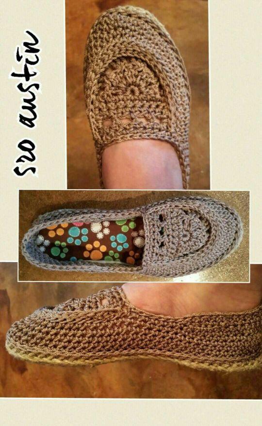 Crochet Loafers - Crochet creation by SRO-AUSTIN - Crochet.Community