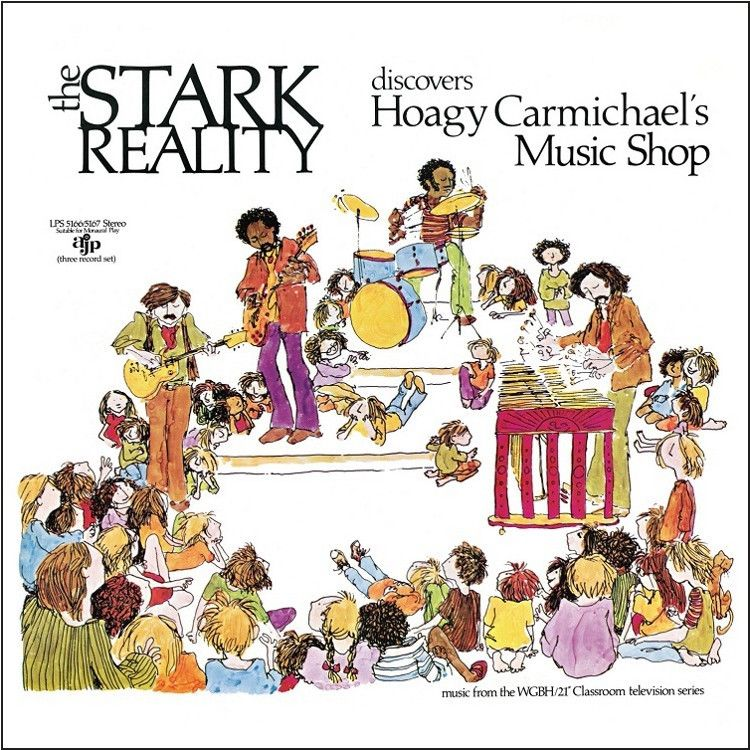 The Stark Reality - Discovers Hoagy Carmichael's Music Shop on 3LP   56-Page Book   Download
