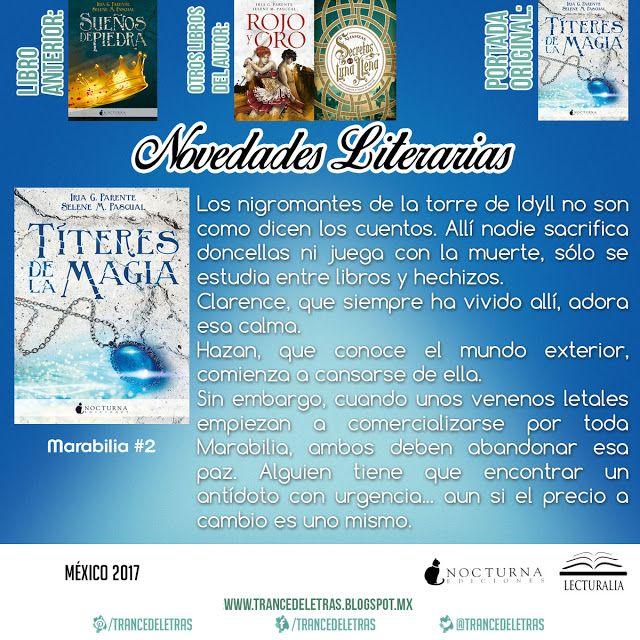 Títeres de la Magia (Marabilia #2) de Iria G. Parente y Selene M. Pascual
