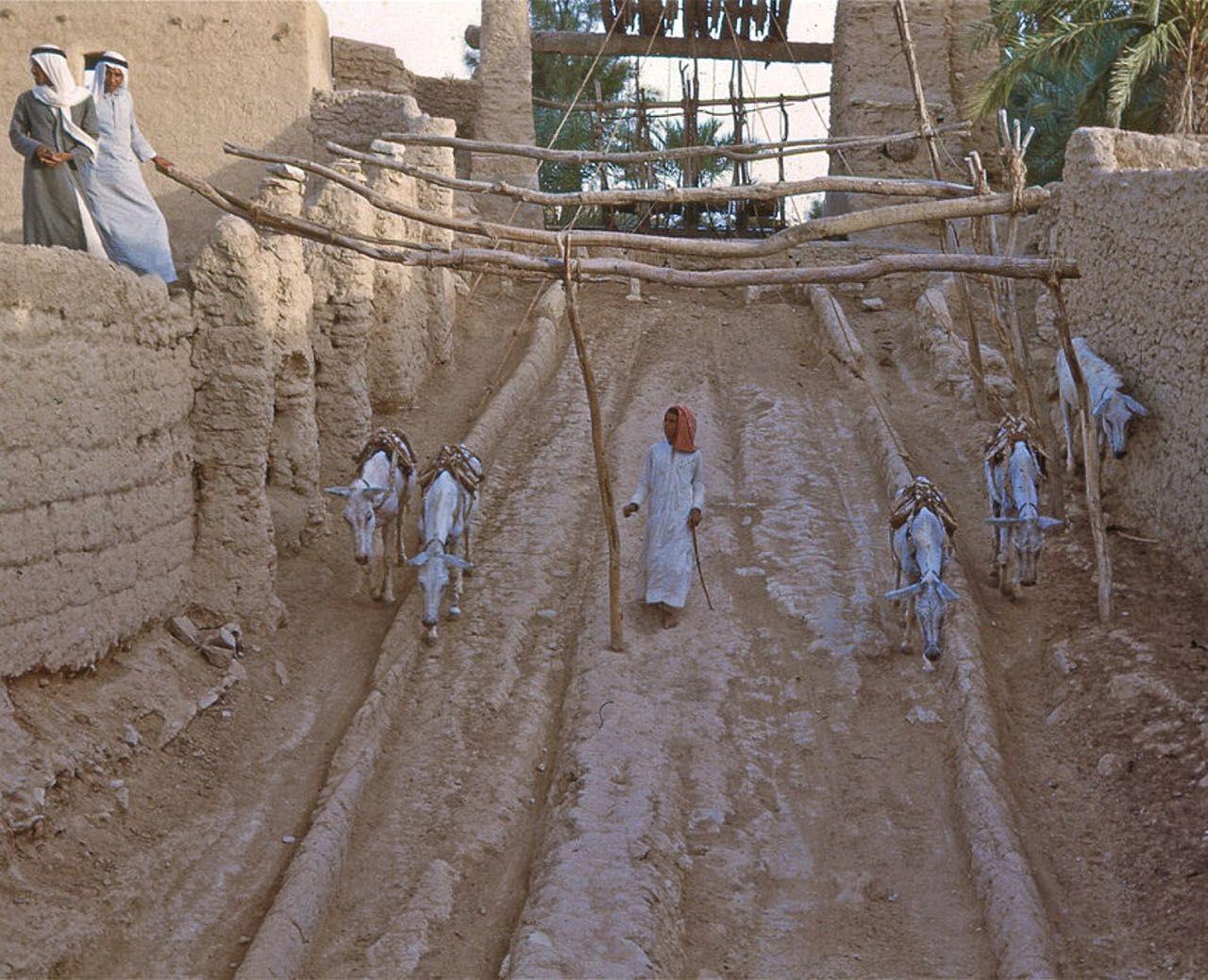 Riyadh من تصوير كراين طبيب الملك عبدالعزيز الله يرحمه صور للرياض من عام 1950م هوامير البورصة السعودية Islamic Heritage Islamic Countries Old Photos