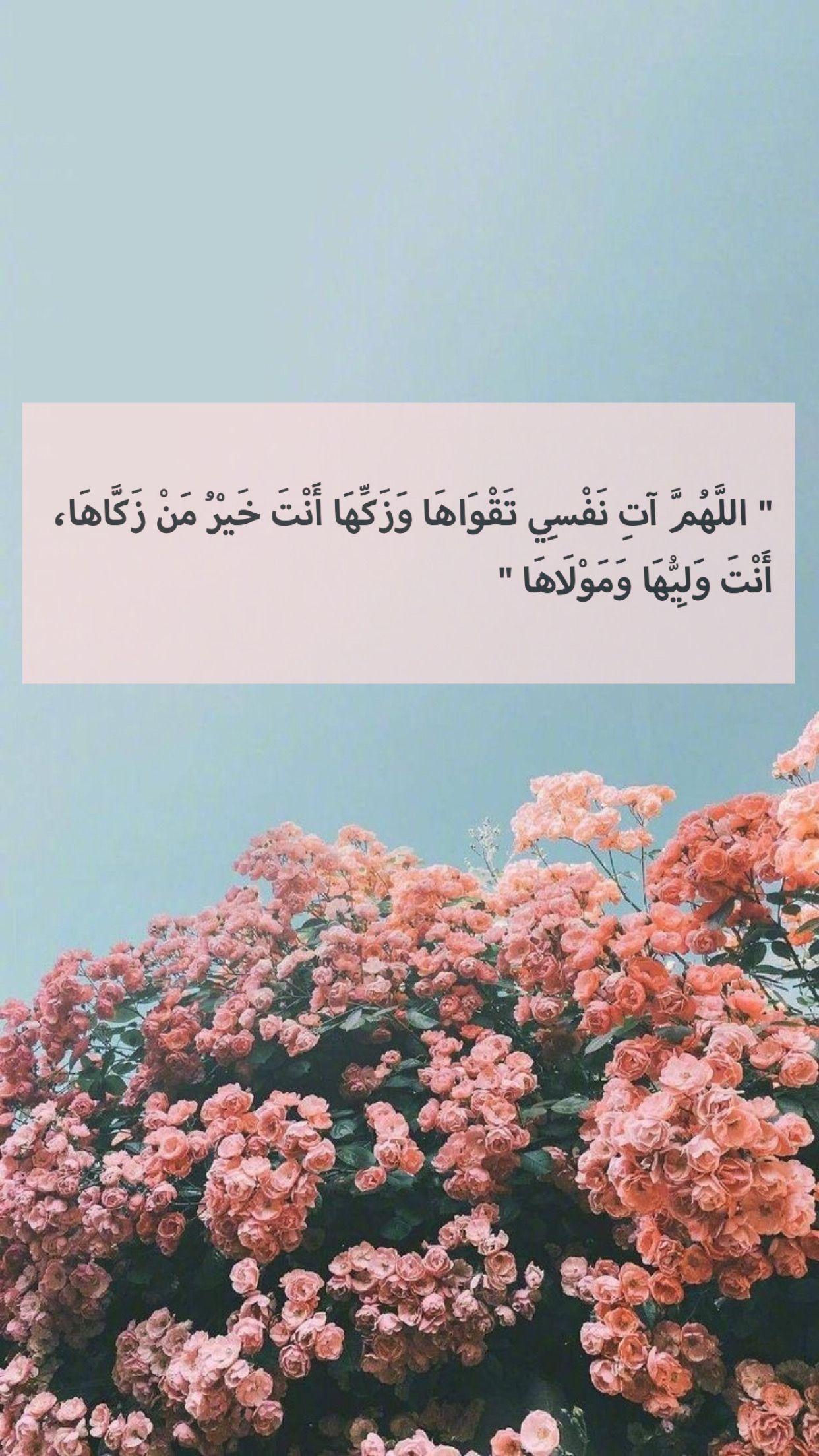 اللهم ات نفسي تقواها Beautiful Quran Quotes Quran Quotes Islam