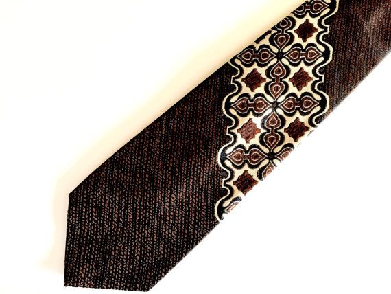 Wembly Tiki Inspired Necktie by 1006Osage on Etsy