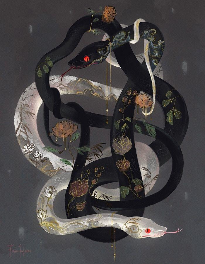 картинки тумблер змеи люди