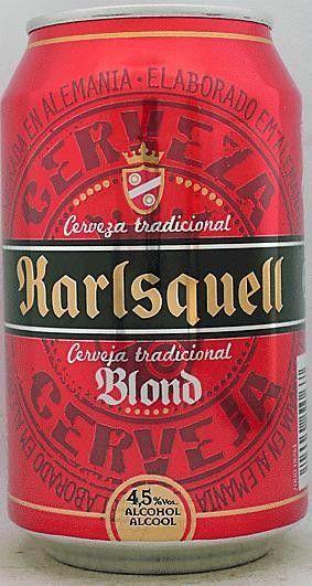 Cerveja Karlsquell Blond Estilo German Pilsner Produzida Por