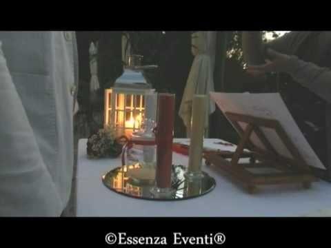 Il Rito della Sabbia - Celebrante Matrimonio Simbolico Essenza Eventi®