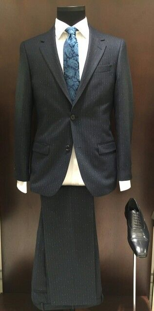 Suit made from %100 extra fine Italian Vitale Barberis wool.Features a regular fit with pure cotton shirt and silk tie. #Zecca #menfashion