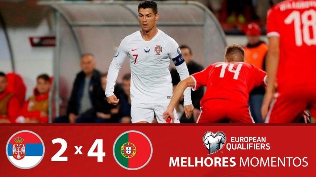Assistir Aos Lances E Melhores Momentos De Servia 2 X 4 Portugal Eliminatorias Da Eurocopa 2020 Futebol Stats Esporte Interativo Cristiano Ronaldo Cristiano Ronaldo Portugal