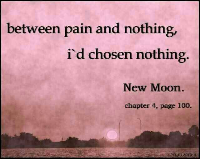 BookQuotes - #NewMoon #2 by #StephenieMeyer | Book Quotes 3 ...